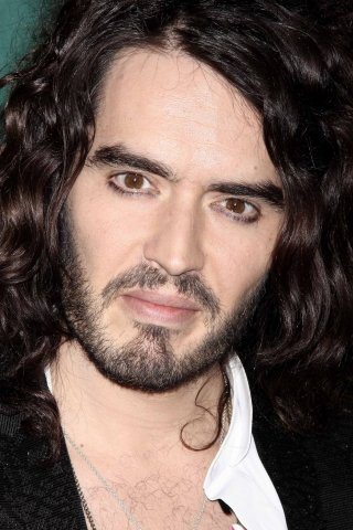 young russell brand in laden. Young Russell Brand in laden.