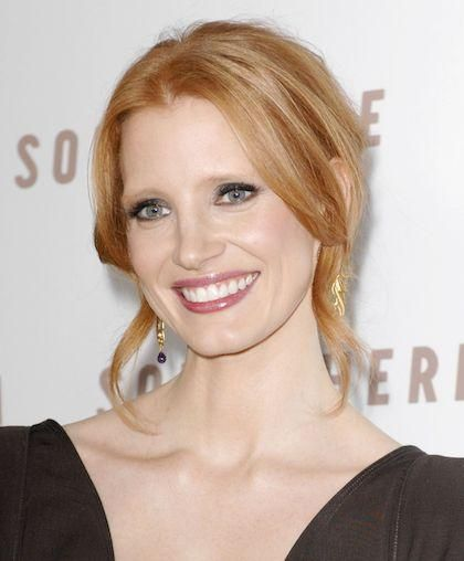 jessica chastain. newcomer Jessica Chastain,