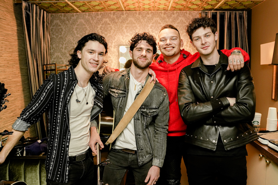 Kane Brown Signs New Band Restless Road & Features On Their New EP!