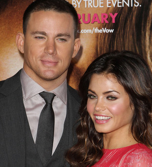 Channing tatum and jenna dewan 39 s tattoos recall honeymoon for Channing tatum tattoo side by side