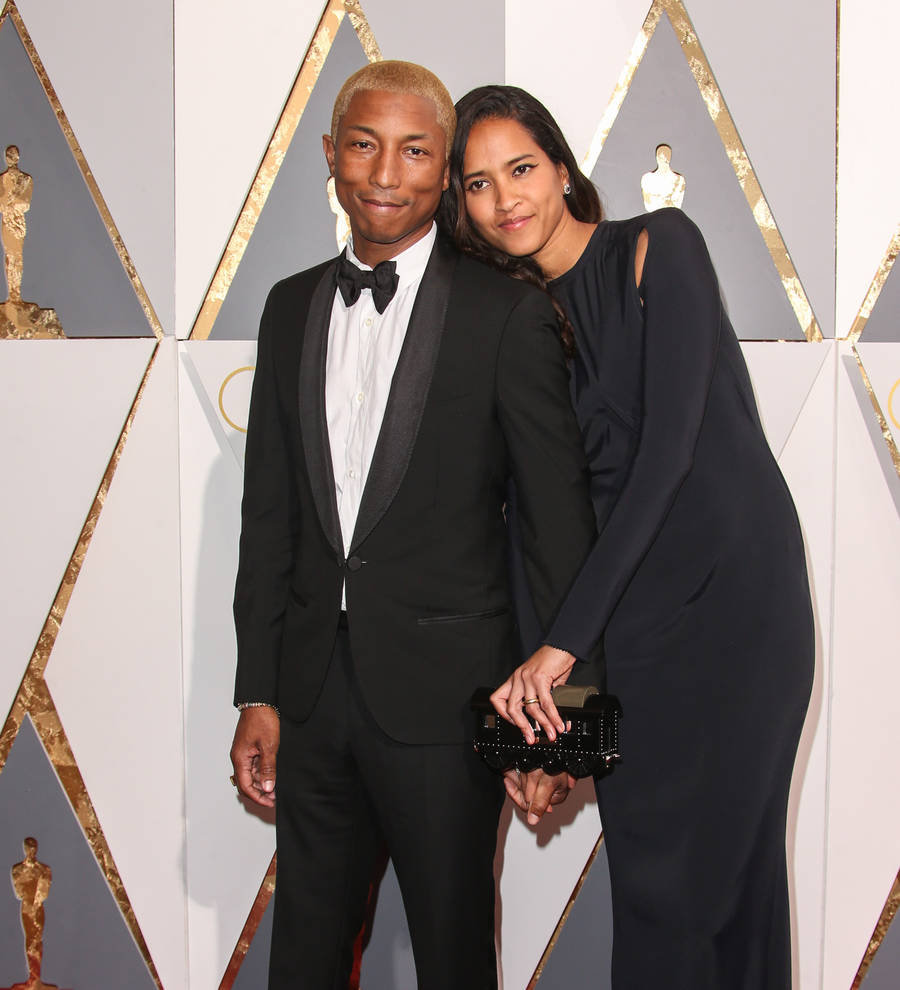 Pharrell Williams and wife Helen Lasichanh happy with two ...