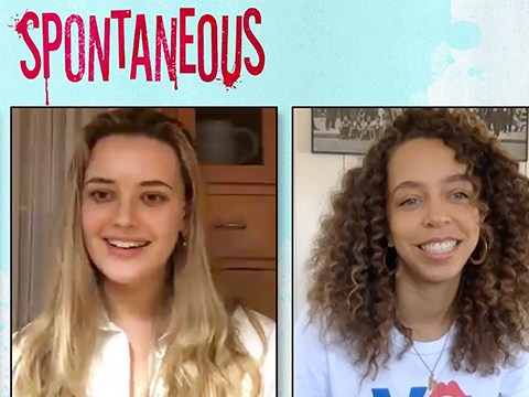 Spontaneous's Katherine Langford & Hayley Law Recall Their IRL High School Experiences