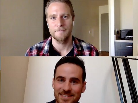 Would The Right Stuff's Colin O'Donoghue & Jake McDorman Go To Space IRL?