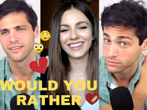 Victoria Justice & Matthew Daddario Explain Their Definition of Cheating