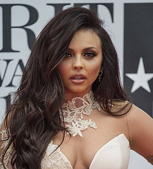 Jesy Nelson injures ankle on stage