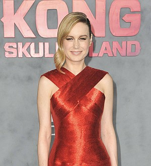 Brie Larson served as entertainment officer on Kong: Skull Island shoot