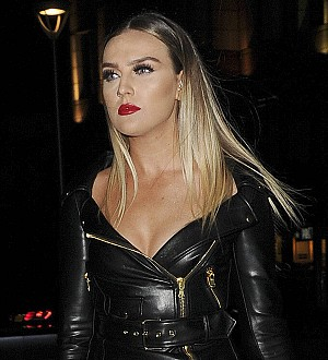 Perrie Edwards sparked fan frenzy at dad's New Year gig