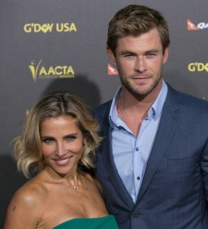 Chris Hemsworth honors wife as Johansson gushes about her Thor
