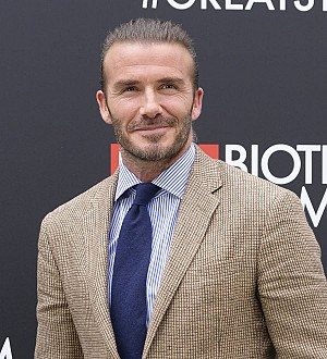 Proud David Beckham posts birthday snaps of daughter Harper's royal visit