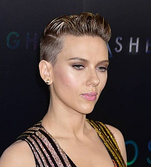 Scarlett Johansson gets cozy with comedian at party - report