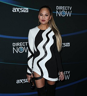 Chrissy Teigen 'all good' after car accident