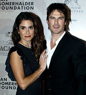 Nikki Reed is a new mom