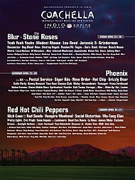 Coachella '13 Line-Up Revealed!