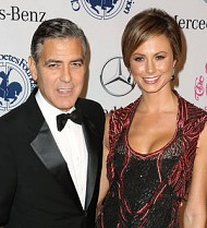 George Clooney to share the screen with Stacy Keibler