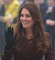 Duchess of Cambridge almost lets slip baby secret