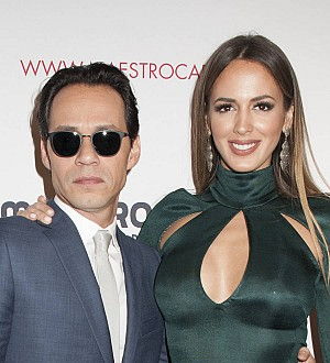 Marc Anthony supports Jennifer Lopez at Las Vegas show