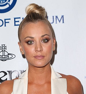 Kaley Cuoco's rescue dog dies