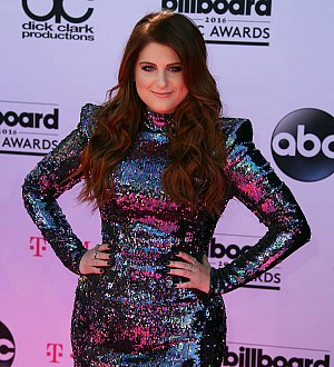 Meghan Trainor writes new songs with her new man