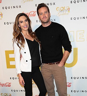 Armie Hammer's wife shares first picture of newborn son