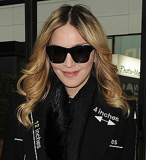 Madonna reunites with son Rocco Ritchie in London