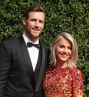 Julianne Hough 'couldn't stop' crying before wedding weekend