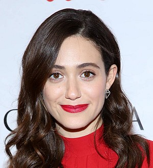 Emmy Rossum spent New Year cliff diving in Anguilla
