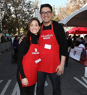 Emmy Rossum: 'I was naked for my fiance's proposal!'