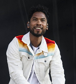 Miguel cries as he calls for unity and love at Wireless Festival