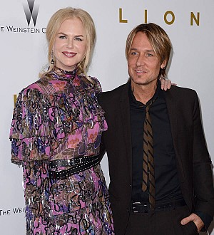 Keith Urban crashes Nicole Kidman's TV interview