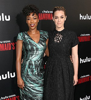 Samira Wiley makes her red carpet debut with wife Lauren Morelli