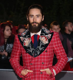 Jared Leto pokes fun at Worst Dressed title as he collects GQ Actor of the Year