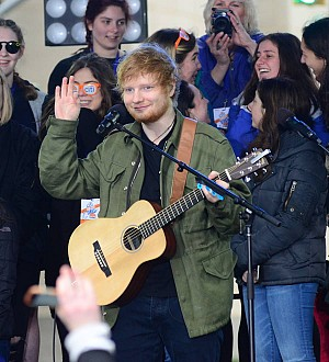 Ed Sheeran retains grip on U.K. charts