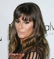 Lea Michele burst into tears shooting first L'Oreal ad