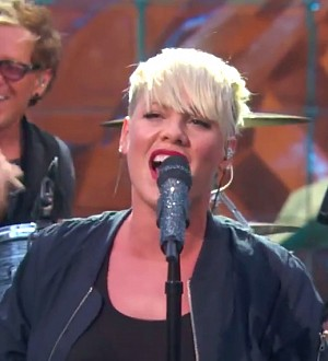 P!nk Debuts New Theme Song for