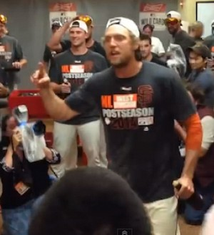 Giants Outfielder Hunter Pence's Most Inspirational Speeches!