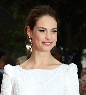 Lily James turned to Angelina Jolie for zombie film inspiration