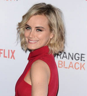 Taylor Schilling hurt herself during Orange is the New Black sex scene
