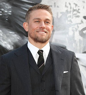 Charlie Hunnam is a godfather