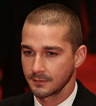 Shia LaBeouf attends Alec Baldwin play preview