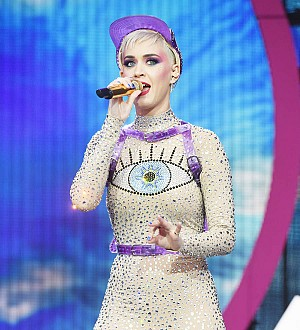 Katy Perry sleeps on late-night texts to exes