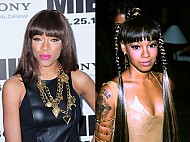 Lil Mama Taking On Left Eye!
