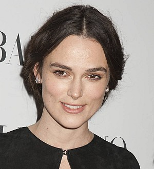 Keira Knightley steps up for Collateral Beauty