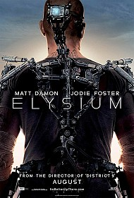 Matt Damon Goes Bionic (and Bald) for 'Elysium'