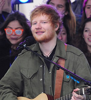 Ed Sheeran breaks his record by cramming 55 Maltesers in his mouth