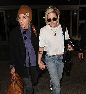 Kristen Stewart declares she's 'really in love' with her girlfriend Alicia Cargile