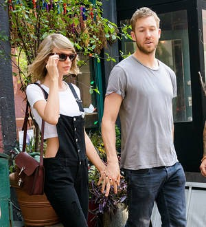 Taylor Swift and Calvin Harris celebrate their one-year love story