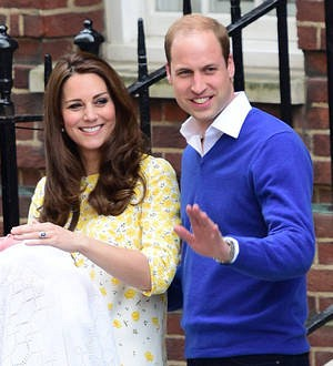 Royals spend first night at home with daughter