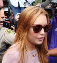 Lindsay Lohan: 'That wasn't me out clubbing after courthouse showdown'