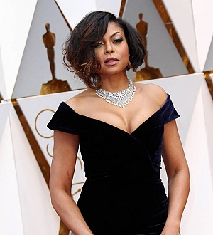 Taraji P. Henson 'vibes out' while getting red carpet ready