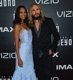 Zoe Saldana can't be apart from her husband for more than a week